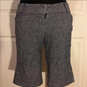Gray Bermuda Shorts